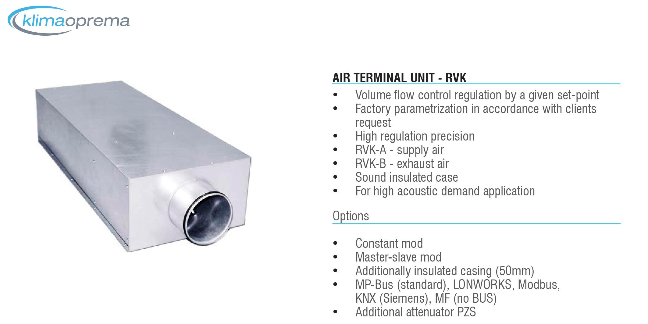 Air Terminal Units : Variable air volume terminal units dasmal trading