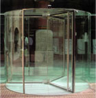 Revolving Glass Doors